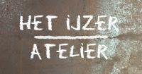 """Welkom op de site van het """"ijzeratelier"""" Logo"""